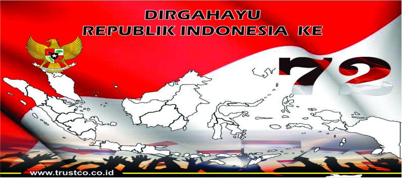 72 TAHUN INDONESIA MERDEKA